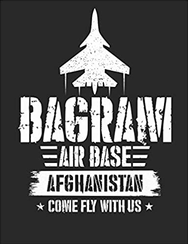 Veteran notebook on Amazon about Bagram Air Base in Afghanistan